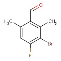 3-Bromo-2,6-dimethyl-4-fluorobenzaldehyde