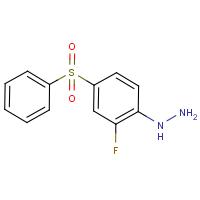 2-Fluoro-4-(phenylsulphonyl)phenylhydrazine