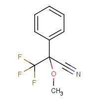 2-Methoxy-2-phenyl-3,3,3-trifluoropropanenitrile