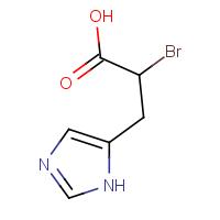 DL-alpha-Bromo-beta-(5-imidazolyl)propionic acid