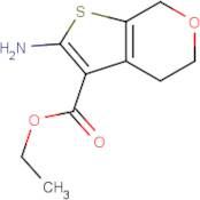 Ethyl 2-amino-4,7-dihydro-5H-thieno[2,3-c]pyran-3-carboxylate