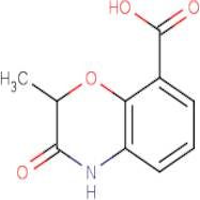 2-Methyl-3-oxo-3,4-dihydro-2H-1,4-benzoxazine-8-carboxylic acid