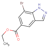 Ethyl 7-bromo-1H-indazole-5-carboxylate