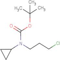 N-(3-Chloropropyl)cyclopropylamine, N-BOC protected