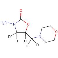 3-Amino-5-morpholinomethyl-1,3oxazolidone-d5