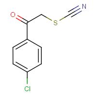 2-(4-Chlorophenyl)-2-oxoethyl thiocyanate