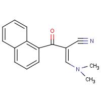 2-[(Dimethylamino)methylene]-3-(naphth-1-yl)-3-oxopropanenitrile