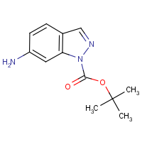 6-Amino-1H-indazole, N1-BOC protected