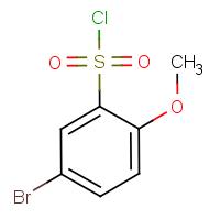 5-Bromo-2-methoxybenzenesulphonyl chloride
