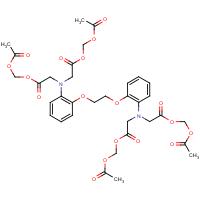 1,2-Bis(2-aminophenoxy)ethane-N,N,N',N'-tetraacetic acid, tetraacetoxymethyl ester