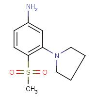 4-(Methylsulphonyl)-3-(pyrrolidin-1-yl)aniline