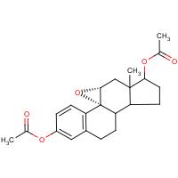 2-(acetyloxy)-6a-methyl-5a,6,6a,7,8,9,9a,9b,10,11-decahydrocyclopenta[7,8]phenanthro[4b,5-b]oxiren-7-yl acetate