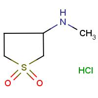3-(methylamino)tetrahydro-1H-1l6-thiophene-1,1-dione hydrochloride