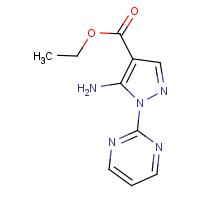 Ethyl 5-amino-1-(pyrimidin-2-yl)-1H-pyrazole-4-carboxylate