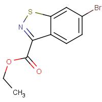 Ethyl 6-bromo-1,2-benzothiazole-3-carboxylate