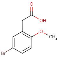 5-Bromo-2-methoxyphenylacetic acid