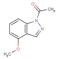 1-(4-Methoxy-1H-indazol-1-yl)ethanone