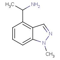 4-(1-Aminoethyl)-1-methyl-1H-indazole
