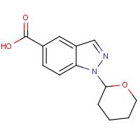 1-(Tetrahydro-2H-pyran-2-yl)-1H-indazole-5-carboxylic acid
