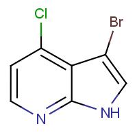 3-Bromo-4-chloro-1H-pyrrolo[2,3-b]pyridine