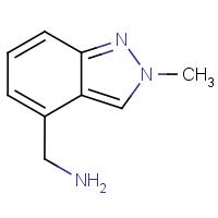 4-(Aminomethyl)-2-methyl-2H-indazole