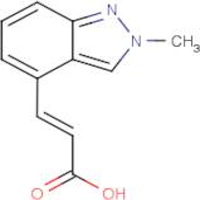 (2E)-3-(2-Methyl-2H-indazol-4-yl)acrylic acid