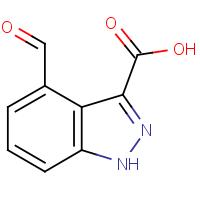 4-Formyl-1H-indazole-3-carboxylic acid