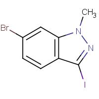 6-Bromo-3-iodo-1-methyl-1H-indazole