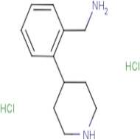 (2-(Piperidin-4-yl)phenyl)methanamine dihydrochloride