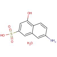 7-Amino-4-hydroxy-2-naphthalenesulfonic acid monohydrate