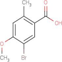 5-Bromo-4-methoxy-2-methylbenzoic acid