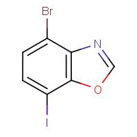4-Bromo-7-iodo-1,3-benzoxazole