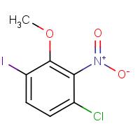 3-Chloro-6-iodo-2-nitroanisole