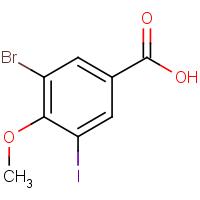 3-Bromo-5-iodo-4-methoxybenzoic acid
