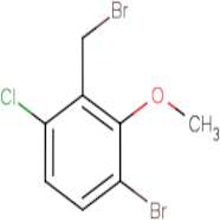 3-Bromo-6-chloro-2-methoxybenzyl bromide