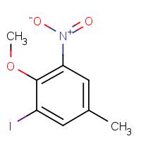 2-Iodo-4-methyl-6-nitroanisole