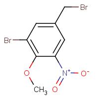 3-Bromo-4-methoxy-5-nitrobenzyl bromide