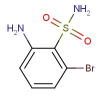 2-Amino-6-bromobenzenesulphonamide
