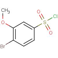4-Bromo-3-methoxybenzenesulphonyl chloride