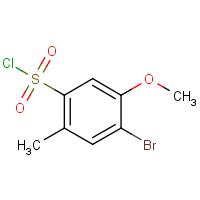 4-Bromo-5-methoxy-2-methylbenzenesulphonyl chloride