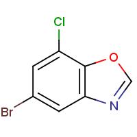 5-Bromo-7-chlorobenzoxazole