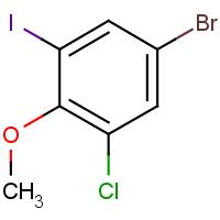 4-Bromo-2-chloro-6-iodoanisole