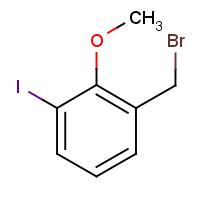 3-Iodo-2-methoxybenzyl bromide