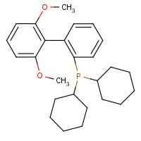2-(Dicyclohexylphosphanyl)-2',6'-dimethoxybiphenyl