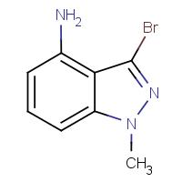 4-Amino-3-bromo-1-methyl-1H-indazole