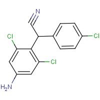 4-Amino-2,6-dichloro-a-(4-chlorophenyl)benzeneacetonitrile