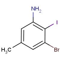 3-Bromo-2-iodo-5-methylaniline