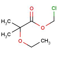 Chloromethyl 2-ethoxy-2-methylpropanoate