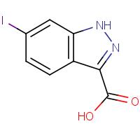 6-Iodo-1H-indazole-3-carboxylic acid