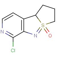 1-Chloro-4b,5,6,7-tetrahydrothieno[1',2':1,5]isothiazolo[3,4-c]pyridine 8-oxide